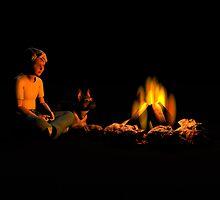 Campfire Buddies by Walter Colvin