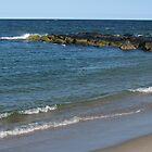 Stone Jetty; Ocean Grove, NJ by Anna Lisa Yoder