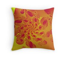 Floral Evolution 003.21.4.g4-280 Throw Pillow