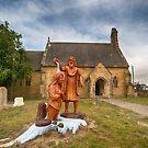 St John the Baptist Anglican Church, Buckland, Tasmania by Chris Cobern