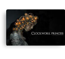 Clockwork Princess Canvas Print