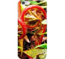 Spring Swirlings 1 iPhone Case/Skin