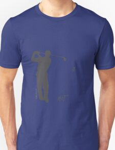 Playing golf seems to be relaxing (light shirt) T-Shirt