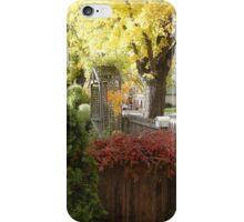 Autumn Colours in Ross, Tas iPhone Case/Skin