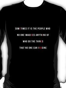 The Game (White Text) T-Shirt