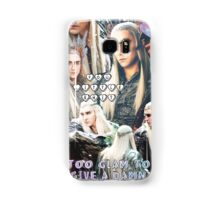 thranduil collage Samsung Galaxy Case/Skin