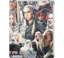 thranduil collage iPad Case/Skin