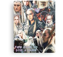 thranduil collage Canvas Print