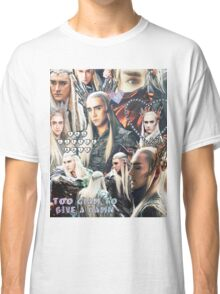 thranduil collage Classic T-Shirt