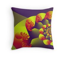 Floral Evolution 003.23.1.g4-280 Throw Pillow