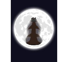 Yip Yip into the Moonlight Photographic Print