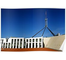 Parliament House - Canberra Poster