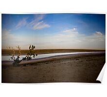 Lake Cadibarrawirracanna - South Australia Poster