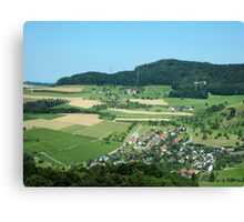Photography: Nature: Landscape in Switzerland 11 Canvas Print