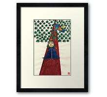 I'm the King! Framed Print