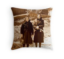 Holydays season Throw Pillow