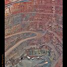 New Cobar Open Cut Gold Mine by Mark Ingram Photography