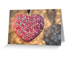 Bedazzle My Heart Greeting Card