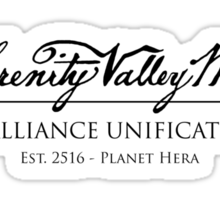 The Serenity Valley Museum Sticker