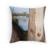 River Murray Throw Pillow