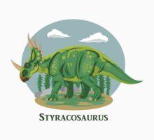 Styracosaurus Kids Tee