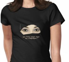 You have never seen my underwear... Womens Fitted T-Shirt