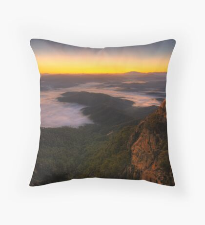 The Gorge - Mount Buffalo Throw Pillow