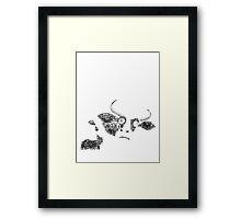 cow pi  Framed Print