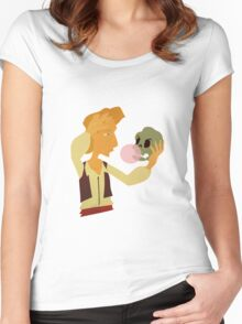 Guybrush performs Hamlet Women's Fitted Scoop T-Shirt