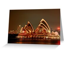 Ovation - The Opera House Goes HDR - Moods of A City #18 - Sydney Australia Greeting Card