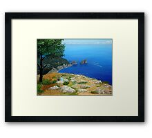 Speedboats Framed Print