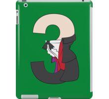 Doctor No. 3 iPad Case/Skin