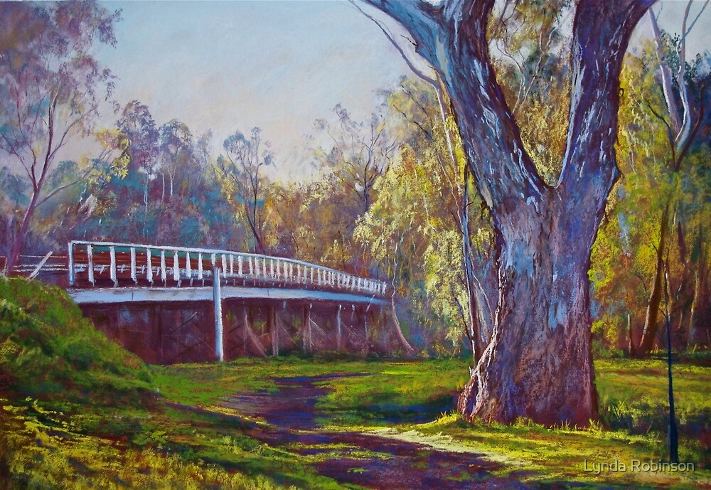 Goulburn Bridge, Seymour  by Lynda Robinson