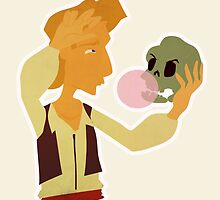 Guybrush performs Hamlet by Tegan  Harvey