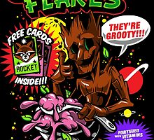 Groot Flakes by popularthreadz