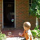 Bubbleblowing by Maggie Hegarty