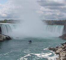 Canadian Niagara Falls by suebankert