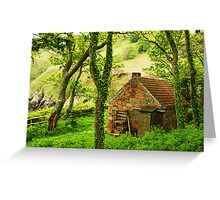 The Woodcutter's Cottage Greeting Card