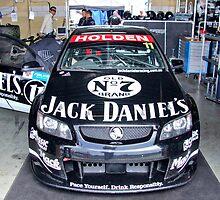Jack Daniels Racing garage by Angryman