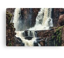 Iguazu Falls - Crashing Water Canvas Print