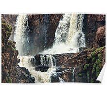 Iguazu Falls - Crashing Water Poster