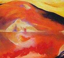 Fiery Reflection by Deborah Milligan