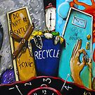 Recycling Project: Wasted Time by helene ruiz