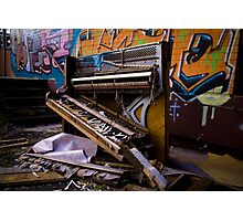 Trash Classical Photographic Print
