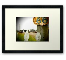 Route to Nowhere Framed Print