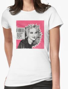 Cyndi Lauper Gum Womens Fitted T-Shirt