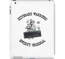 Keyboard Warriors – Internet Troll Club iPad Case/Skin