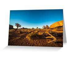 Monument Valley branch Greeting Card