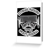 Keyboard Warriors – TROLL Greeting Card