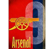 Arsenal FC Canon Design Photographic Print